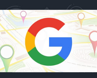 je n apparais pas sur google map
