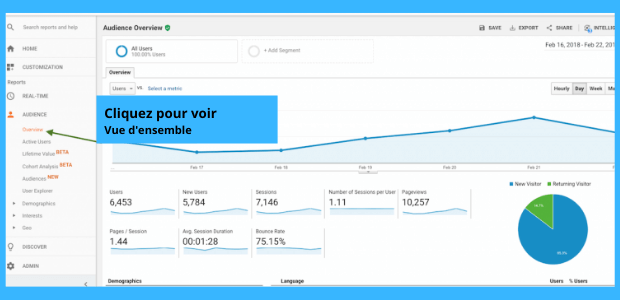 Google Analytic pour start up
