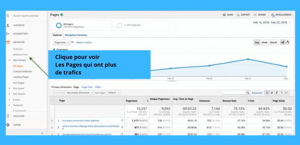 Google Analytics pour débutant