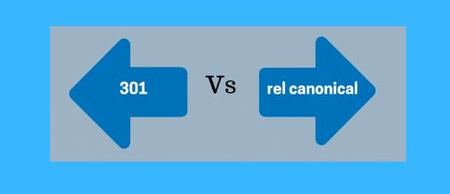 Quelle est la différence entre une redirection 301 et une redirection rel=canonique