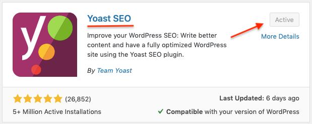comment installer yoast fichier sitemap