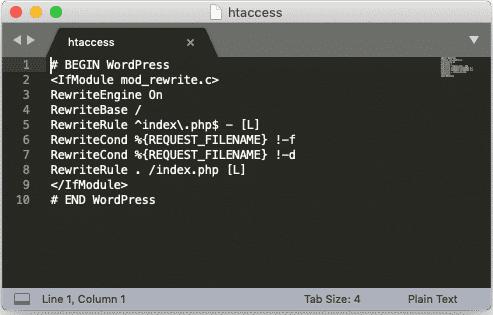 Qu'est-ce qu'un fichier .htaccess