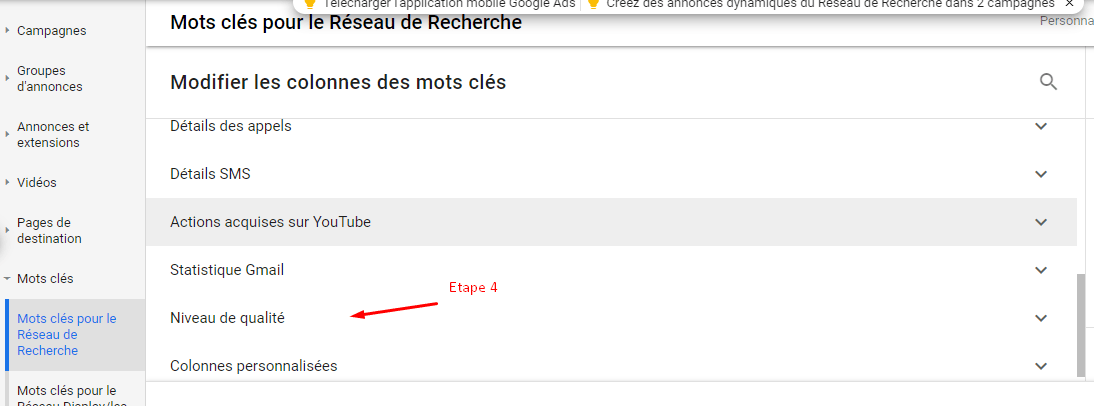 Comment augmenter son niveau de qualité sur Google Adwords