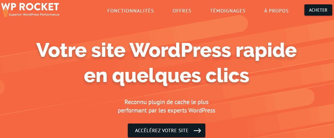 meilleurs plugins de cache pour WordPress