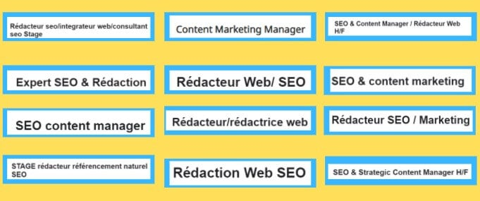 Rédacteur Web vs Copywriting: Sont-ils différents