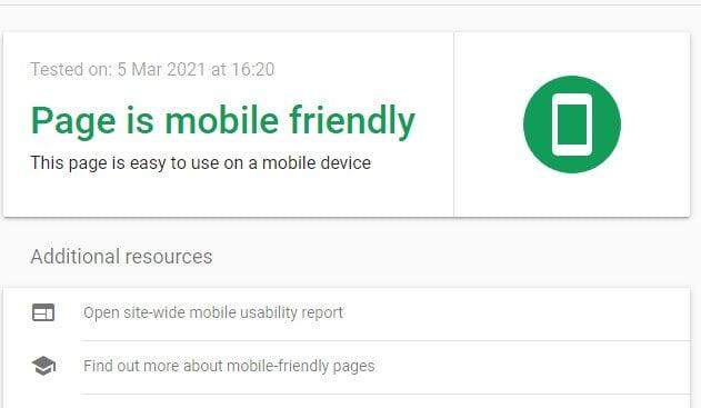 Facteur de classement Google