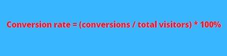Comment calculer le taux de conversion ?